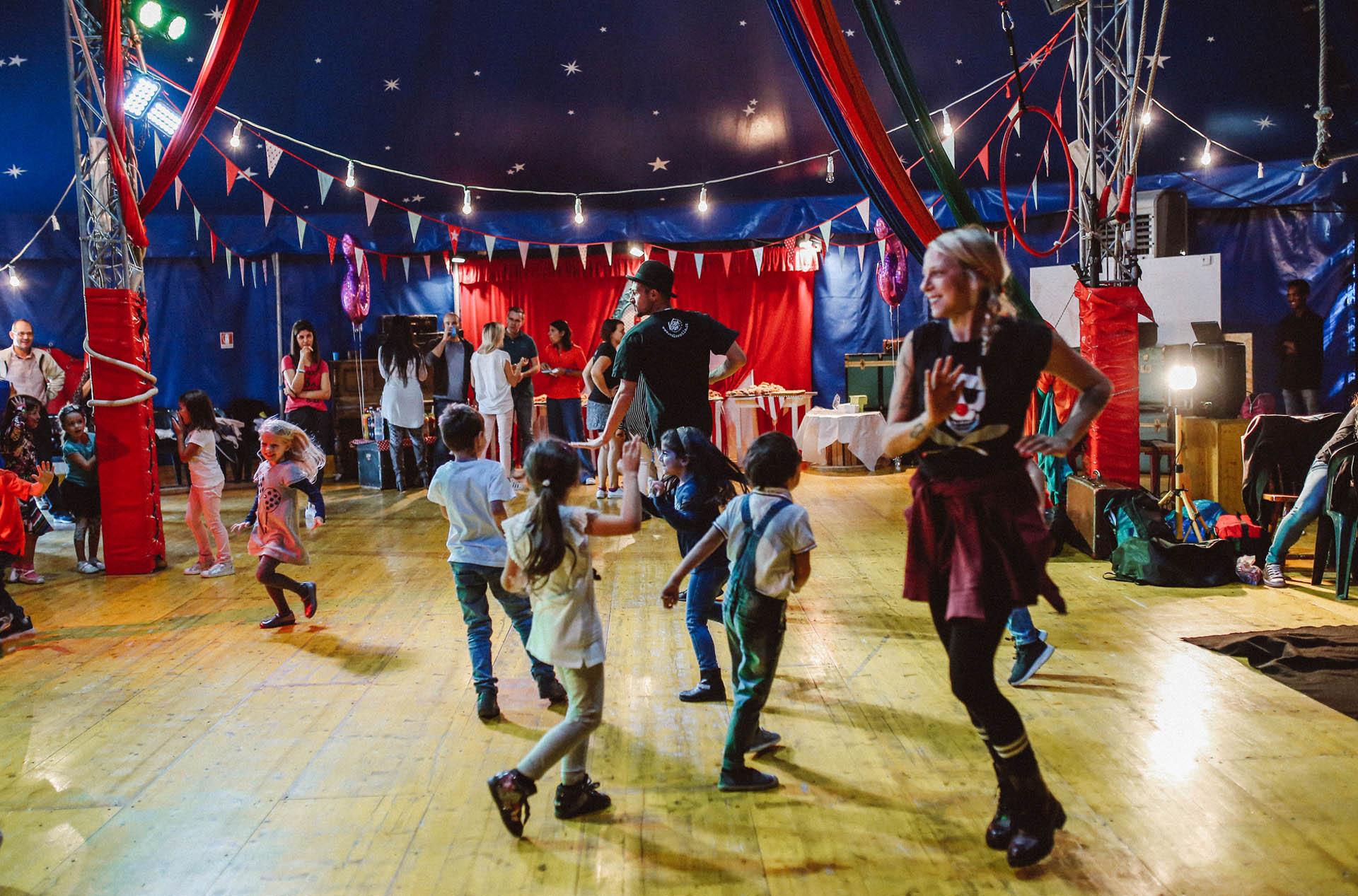 Party al circo