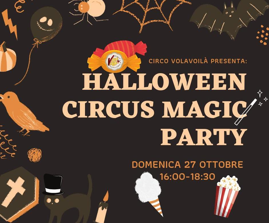 Halloween Party Circus Magic