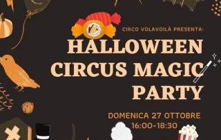 Halloween Circus Magic Party