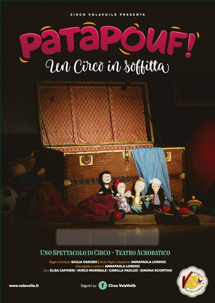 Da Luce Alla Soffitta patapouf. un circo in soffitta - scuola di circo roma volavoilà